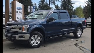 2018 Ford F-150 XLT 301A EcoBoost Supercrew Review| Island Ford
