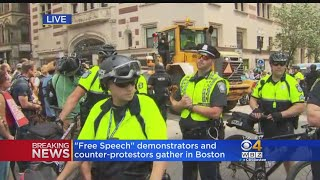 Counter Protesters Arrested In Aftermath Of 'Free Speech Rally' thumbnail