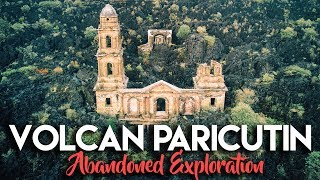 CHURCH DESTROYED BY VOLCANO | EXPLORING VOLCAN PARICUTÍN