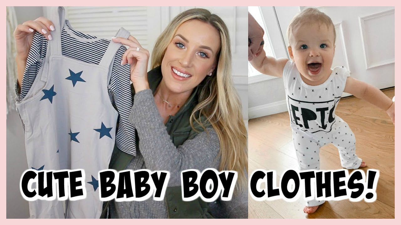 33824d720 CUTE BABY BOY OUTFITS HAUL! PATPAT CLOTHING REVIEW