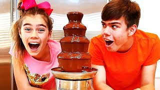 Nastya and Artem - a story for children about harmful sweets and candies