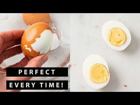 How to Make Perfect Hard Boiled Eggs that are Easy to Peel  YouTube