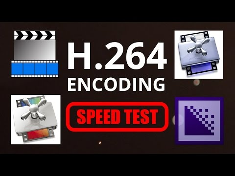 H.264 encoding speed test (with commercials voice impression)