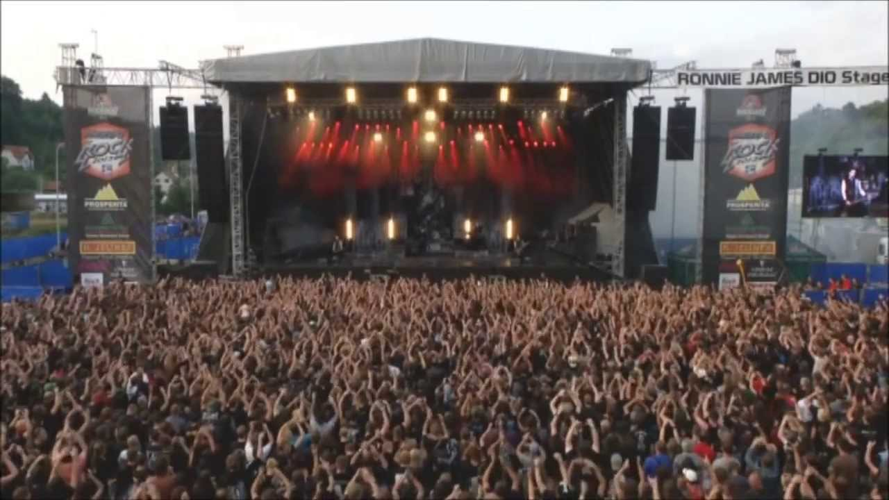 "Powerwolf ""We Drink Your Blood"" Masters of Rock 2013"