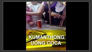 Búp Bê KUMANTHONG Uống Nước Ngoài Chợ || Firsthand KUMANTHONG foreign drink market