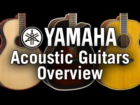 Yamaha Acoustic Guitars Overview