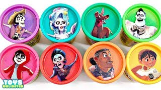 Disney Pixar's COCO  Play-Doh Lids TOY SURPRISES