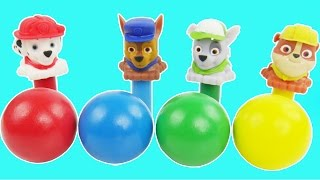Paw Patrol Baby learning videos over 30 minutes long Candy Gumballs toy games playdoh for preschool | Sparkle Spice