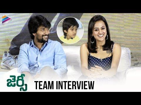 Jersey Movie Team Interview LIVE | Nani | Shraddha Srinath | Anirudh Ravichander | Telugu FilmNagar