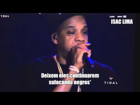Jay Z Freestyle Tidal B Sides Concert [Legendado]
