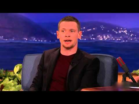'Unbroken' Star Jack O'Connell explains the Derby phrase 'Ay Up Me Duck' on Conan