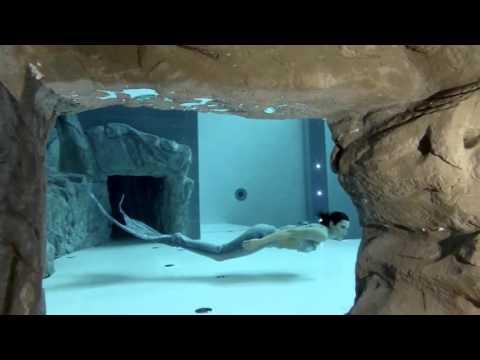 Русалка и самый глубокий в мире бассейн׃ Y-40, Италия