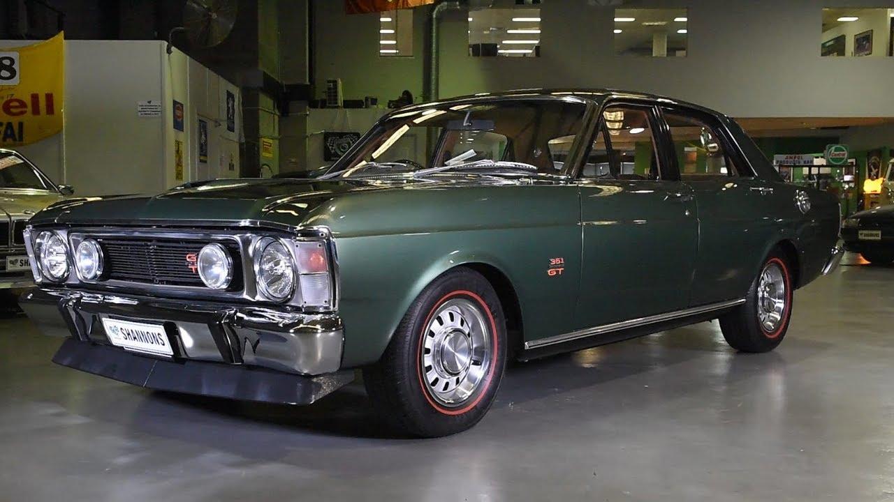 1970 Ford Falcon XW GT Sedan - 2017 Shannons Sydney Spring Classic Auction