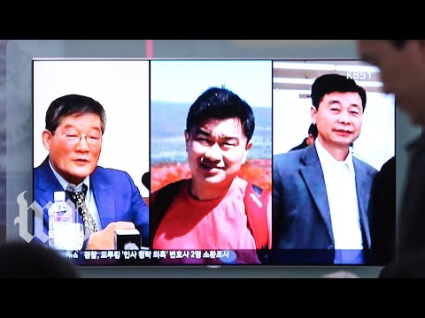 Trump welcomes the three Americans freed from North Korea