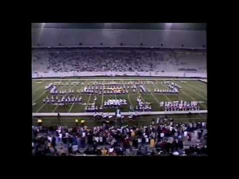 Morgantown High School Red U0026 Blue Marching Band 2003