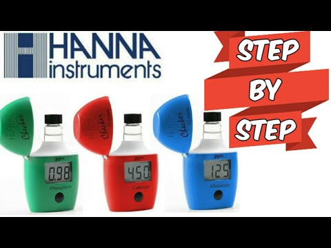 Hanna Instruments Saltwater Test Kit Step-by-step Review!