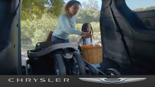 homepage tile video photo for 2021 Chrysler Pacifica   Product Features - 3rd Row Stow N' Go