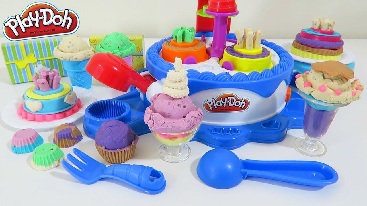 Play doh cupcake juego de plastilina juegos de play doh pasteleria mi mundo de juguetes - Cocina play doh ...