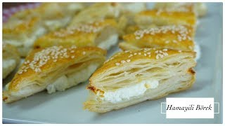Nobody believes it's made by phyllo!/layer patty with cheese/Figen Ararat