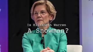 Is Elizabeth Warren a Snowman ?