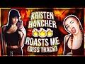 Kristen Hancher and her BOYFRIEND ROAST ME AGAIN (DISS TRACK???)