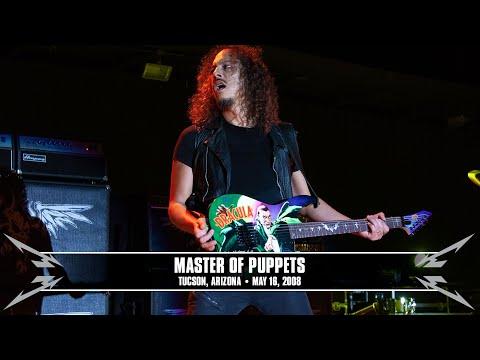 Metallica: Master of Puppets (MetOnTour - Tucson, AZ - 2008)