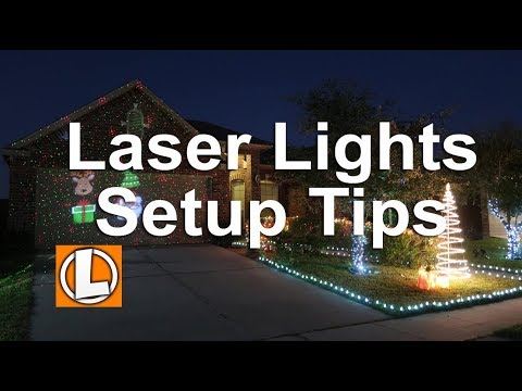 Star Shower Outdoor Laser Christmas Lights Star Projector.Star Shower Christmas Laser Lights Slide Show Projector Setup Tips Security Testing And Footage