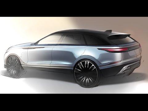 Car Design Sketch & Drawing - Land Rover Velar