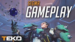 Sigma Gameplay - Jest potencjał! [Overwatch]
