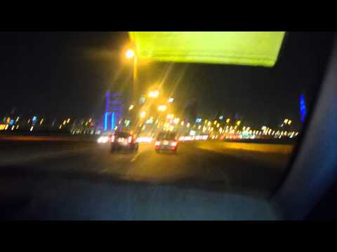 Taxi with Ahmed from Airport to Ibis Manama   Part 2   Bahrain   August 2015