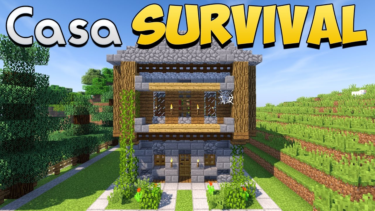 Come costruire una casa per il survival su minecraft for Procedura per costruire una casa
