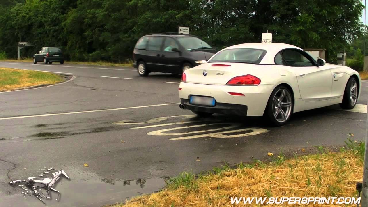 Bmw E89 Z4 28i N20 Engine Supersprint Exhaust Sound