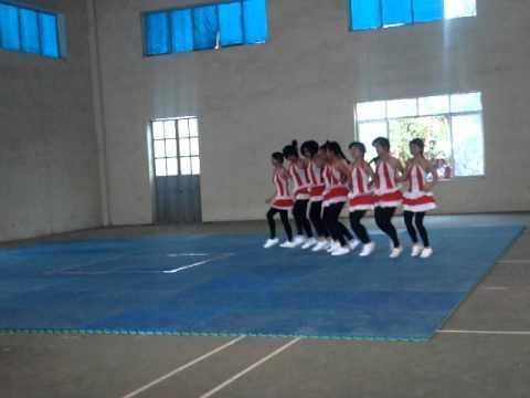 Aerobic THCS Him Lam  - Điện Biên - TC 8 người - 2011