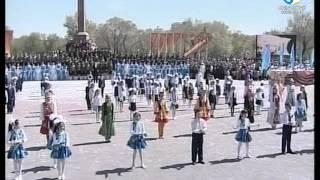 Кокшетауцы отмечают день победы