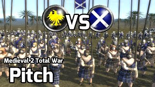 Medieval 2 Total War Online Battle #166 (1v1) - Mailed Scots