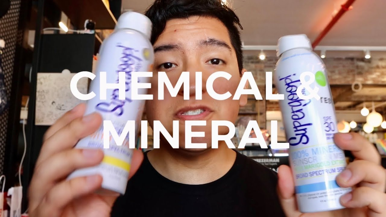SUPERGOOP's PLAY SUNSCREEN: CHEMICAL & MINERAL