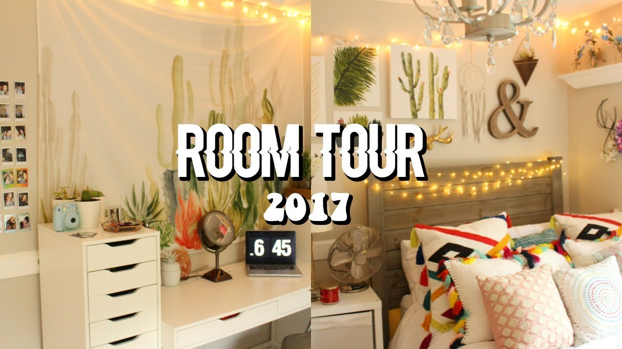 Aesthetic Room Tour 2017 Youtube