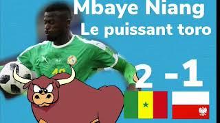 Mbaye Niang le puissant toro face à la Pologne..