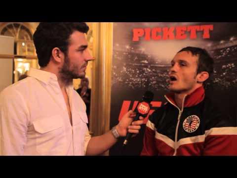 UFC Sweden II - Prefight interview with Brad Pickett