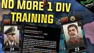 HOI4 No More 1 Division Training (Hearts of Iron 4 Man the Guns Guide)