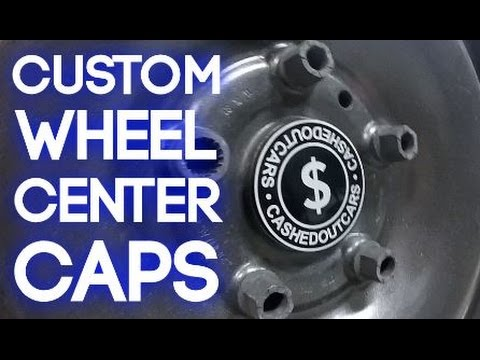 Making Custom Wheel Center Caps!