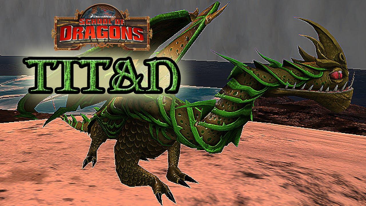 TITAN Razorwhip - School of Dragons - YouTube