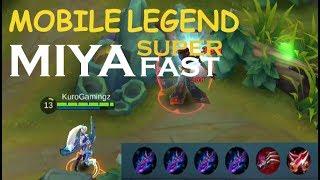 Mobile Legends Miya Super Fast & Life Steal