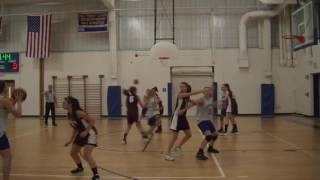 Acton Boxborough Jr High Girls Basketball vs Groton May 2012