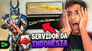 INVADI O SERVIDOR DA INDONESIA NO FREE FIRE