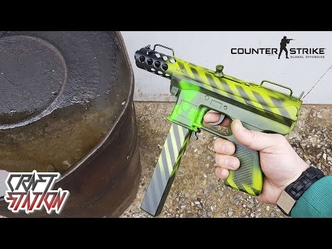 How to make Tec-9 | Nuclear Threat - CS:GO DIY Free templates