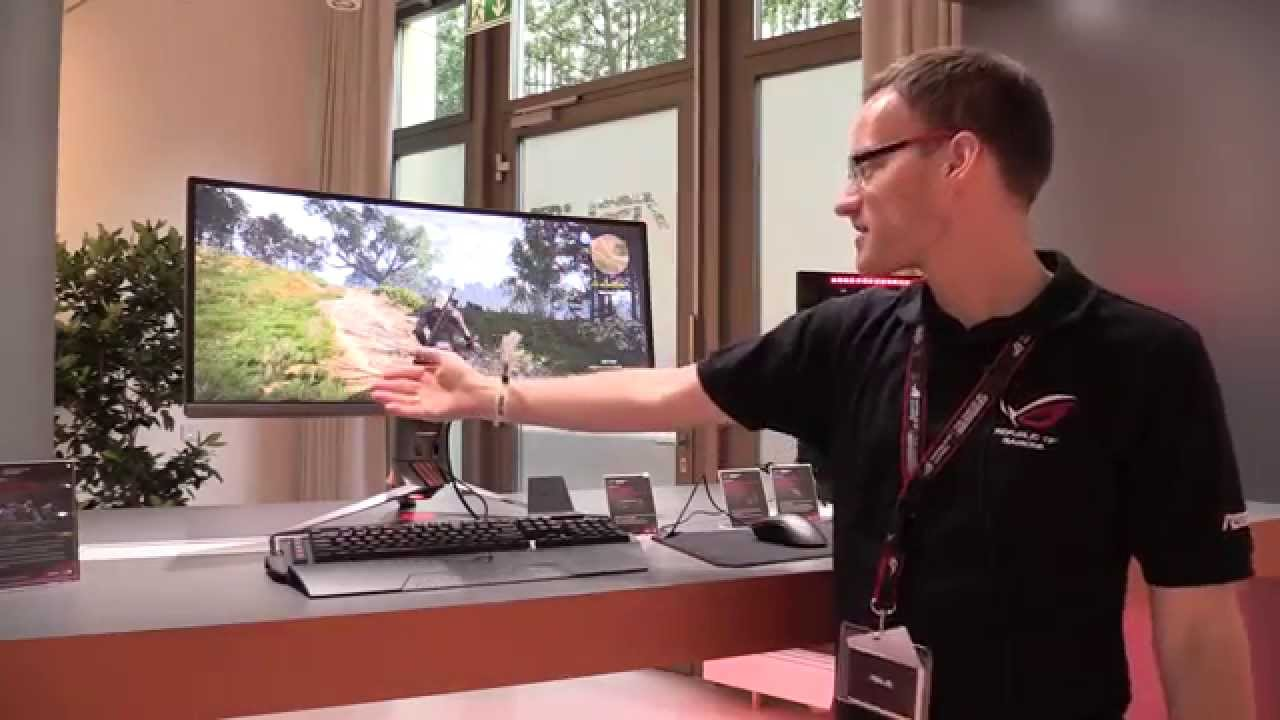 ASUS ROG Swift PG9Q 9 Zoll Curved 9Hz Gaming Monitor  Deutsch