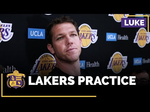 Luke Walton Says Players Talk About Making Playoffs