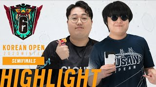 [H/L] DAY 9 SEMIFINALS // KOREAN OPEN 2020 WINTER | 레인보우 식스 …