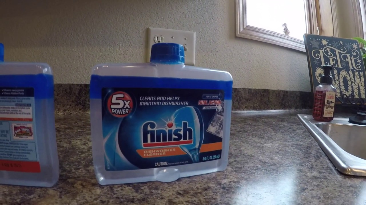 Finish Dishwasher Clean Full Review Youtube